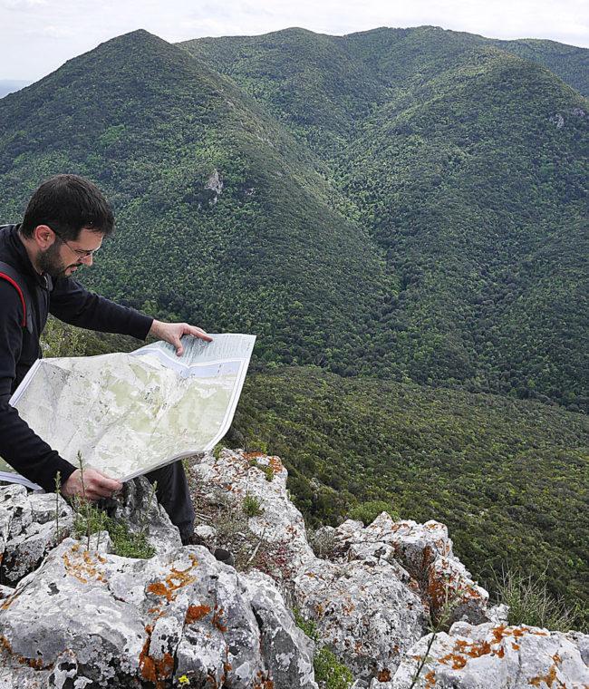 La vista dal Romitorio, Trekking San Carlo - Monte Coronato -Romitorio, San Vincenzo e Castagneto Carducci (LI), Toscana, Italia